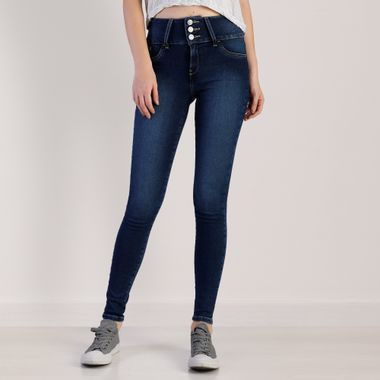 Mujer Jeans Super Skinny Cintura Super Alta Oggi 11 Oggi